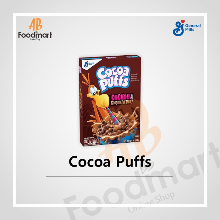 GMI COCOA PUFFS CEREAL 294 GR
